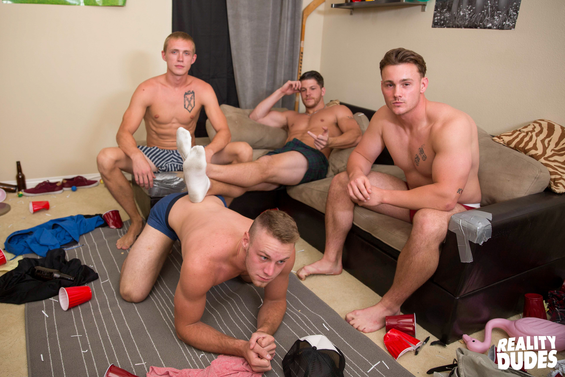 Hot amateur guy strippers