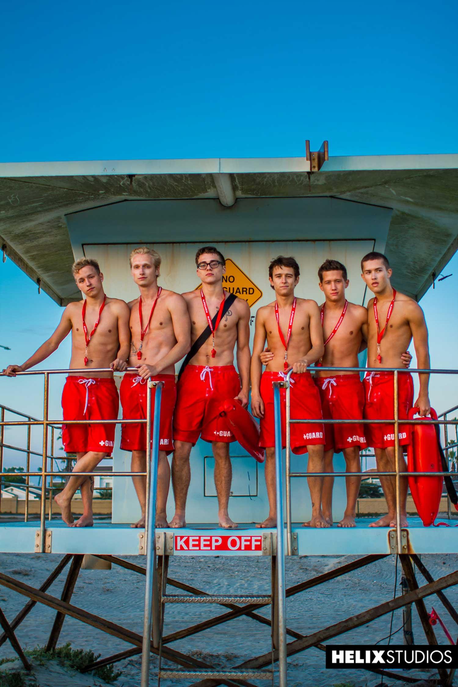 Bisex lifeguard